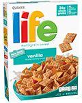 Quaker Life Cereal Vanilla