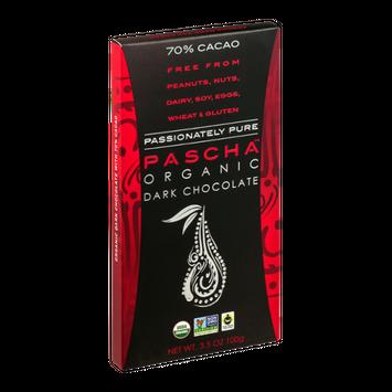 Pascha Organic Dark Chocolate 70% Cacao