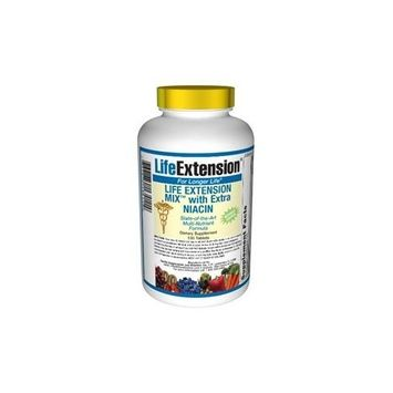 Life Extension Mix with Extra Niacin without Copper, 100 tablets