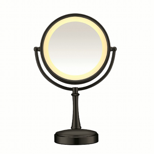 Conair Touch Control 1x/7x Magnification Double Sided Mirror