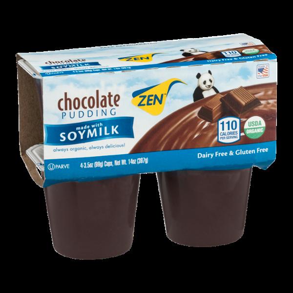 Zen Chocolate Pudding - 4 CT