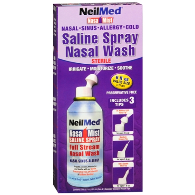 NeilMed Nasa Mist All in One Saline Spray