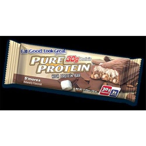 Worldwide Sport Nutrition Pure Protein Bar S'mores (12 Bars) 2.75 Ounces