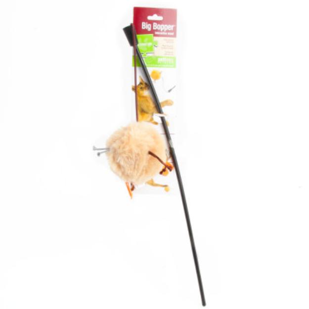 Petlinks Big Bopper Wand Teaser Cat Toy