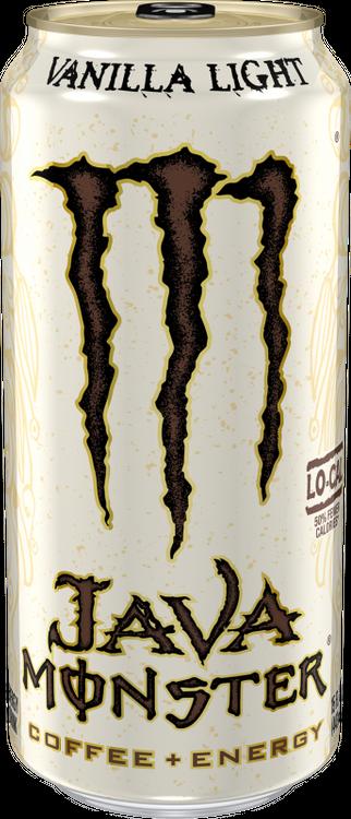 Java Monster Vanilla Light