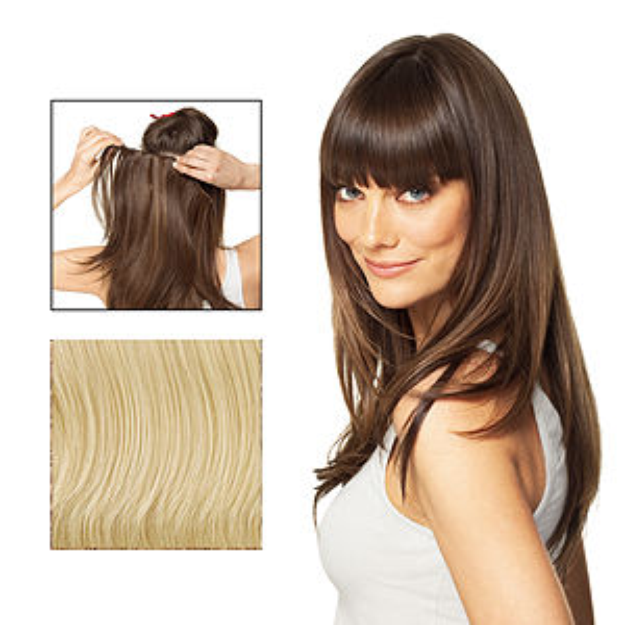 POP Put On Pieces Go Go Girl! V Shaped Clip in Extension