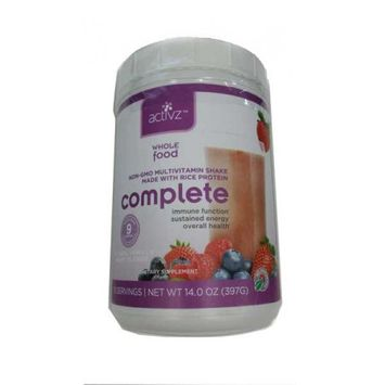 Activz Organic Whole Food Multivitamin Complete Shake 1.2 KG