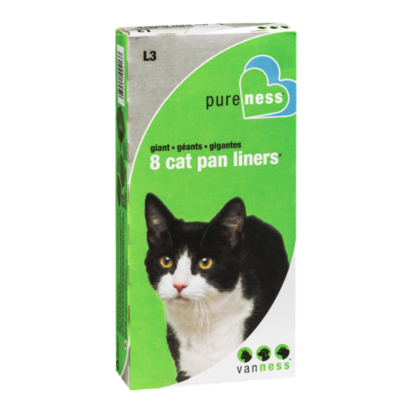 12 Count Pureness Large Cat Pan Liners
