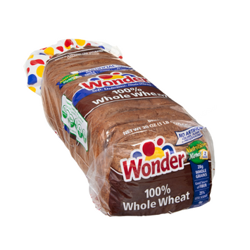 Wonder Bread 100% Whole Wheat