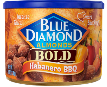 Blue Diamond® Bold Almonds Habanero BBQ