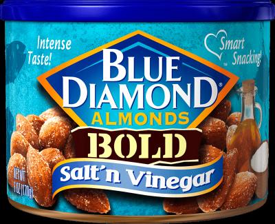 Blue Diamond® Bold Almonds, Salt 'n Vinegar