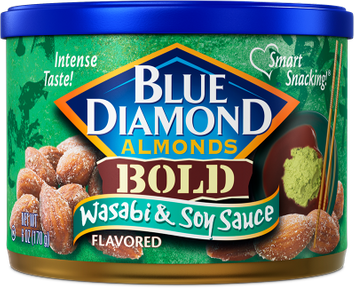 Blue Diamond® Bold Wasabi & Soy Sauce Almonds