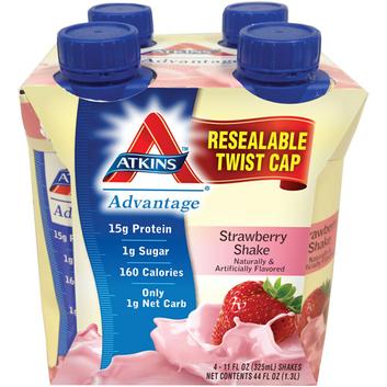 Atkins Advantage Strawberry Shake