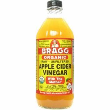 Bragg Apple Cider Vinegar, 16 FL OZ (Pack of 12)