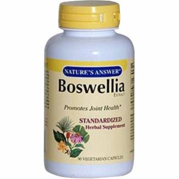 Nature's Answer Boswellia Vegetarian Capsules, 90 CT