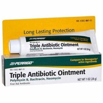 Perrigo, Triple Antibiotic Ointment, 1 oz tube, 4 ea MS-60780