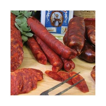 Hot Paella Chistorra Cooking and Breakfast Sausage