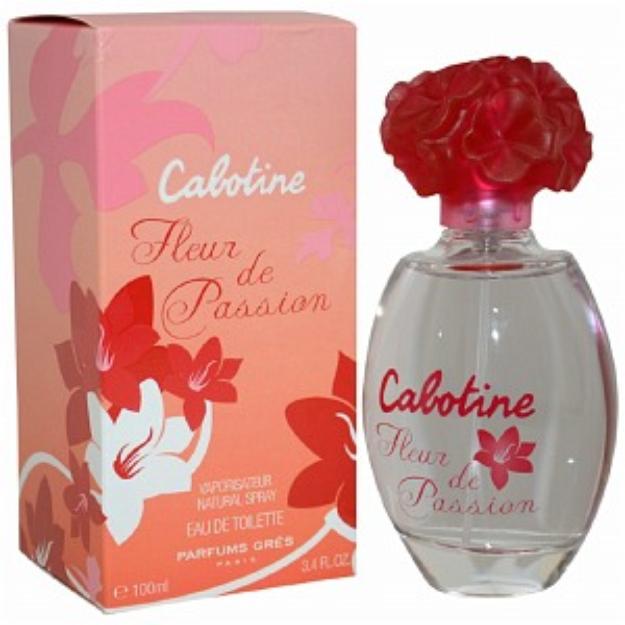 Gres Cabotine Fleur De Passion Eau de Toilette Spray, 3.4 fl oz
