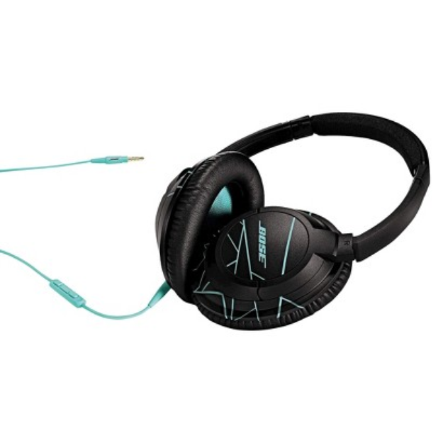 Bose SoundTrue around-ear headphones - Black/Mint