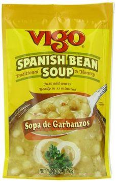 Vigo SOUP MIX, SPANISH BEAN, (Pack of 12)