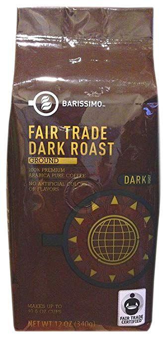 BARISSIMO™ Premium Fair Trade Dark Roast Ground Coffee