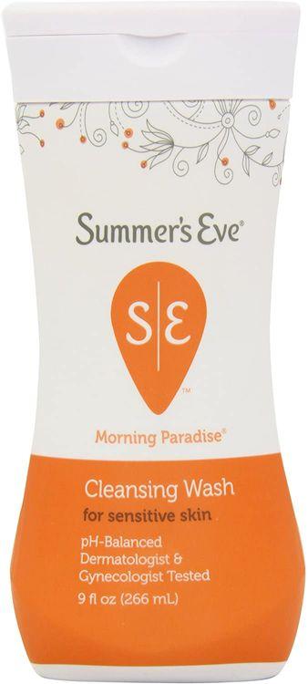 Summer's Eve Cleansing Wash, Morning Paradise Sensitive Skin