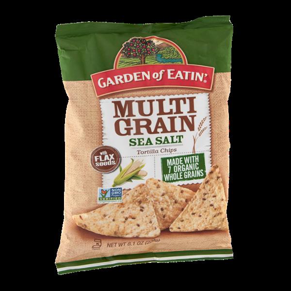 Garden of Eatin' Tortilla Chips Multi Grain Sea Salt