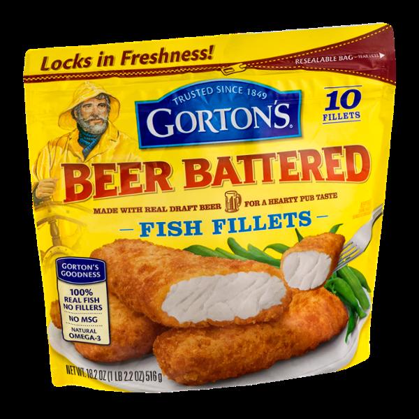 Gorton's Beer Battered Fish Fillets - 10 CT