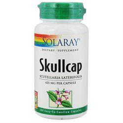 Solaray Skullcap - 425 mg - 100 Capsules