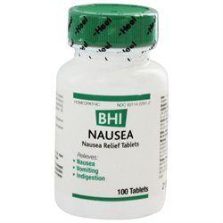 Heel BHI Nausea Homeopathic Medication - 100 Tablets