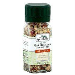 The Spice Hunter Garlic Herb Sensation Grinder, 1.6 oz Jars, 6 pk