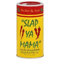 Slap Ya Mama Slap Ya Mama Original Cajun Seasoning 16 Oz Pack Of 12