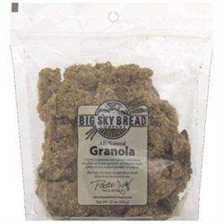 Big Sky Granola Clusters Honey Almond - 12 oz