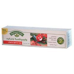 Nature's Gate Natural Toothpaste for Kids, Cherry Gel, 5 oz