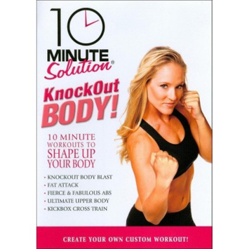Anchor Bay/starz 10 Minute Solution: Knockout Body Workout (DVD)