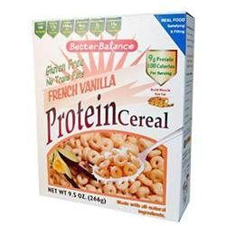 Kays Naturals 0807552 Better Balance Protein Cereal French Vanilla - 9.5 oz