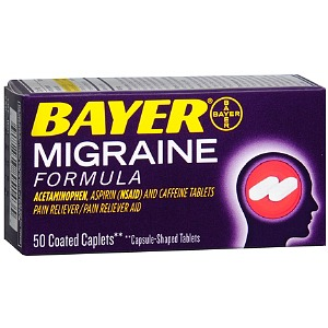 Bayer Migraine Formula Coated Caplets