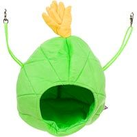 Multipet Large Green Pineapple House Small Animal Hideaway, 9 L X 9 W X 9 H