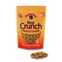 Charlee Bear Grain Free Chicken, Pumpkin & Apple Bear Crunch Dog Treats, 8 oz.