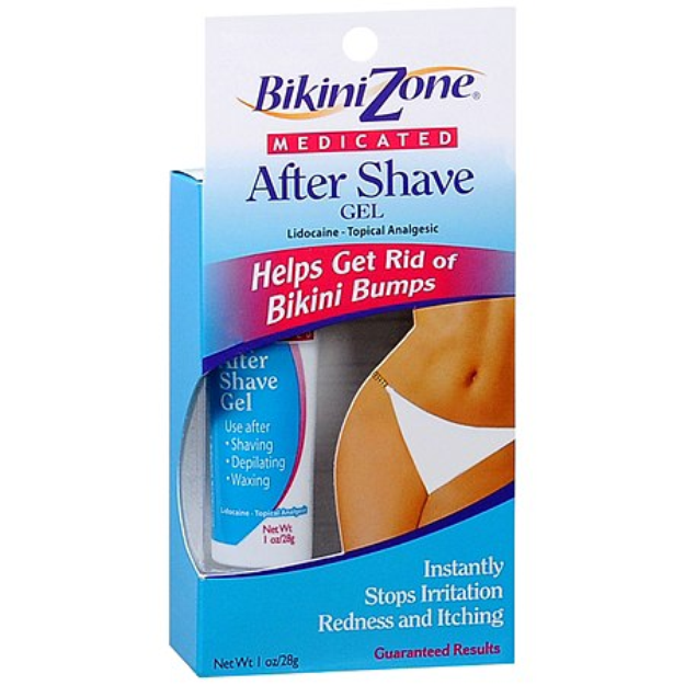 Bikini Zone Medicated After Shave Gel