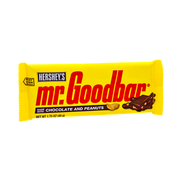 Mr. Goodbar Milk Chocolate with Peanuts Candy Bar