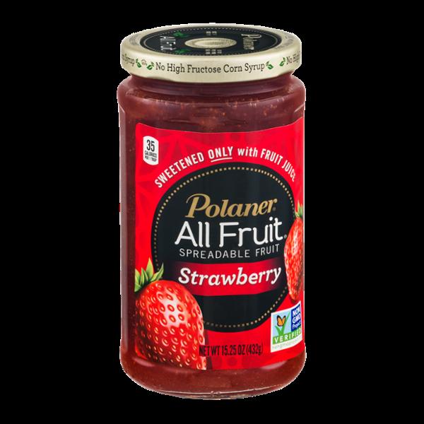 Polaner All Fruit Spreadable Fruit Strawberry