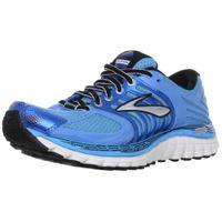 Brooks Women's Glycerin 11 Running Shoes, Color: Aqrs/DrsdnBlu/Blk/Slv/ShckOrng, Size: 5.0