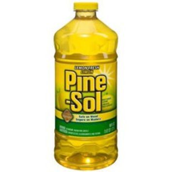 Clorox Pine-Sol 40239 60-Ounce Cleaner with Lemon Fresh Scent (6 per Case)