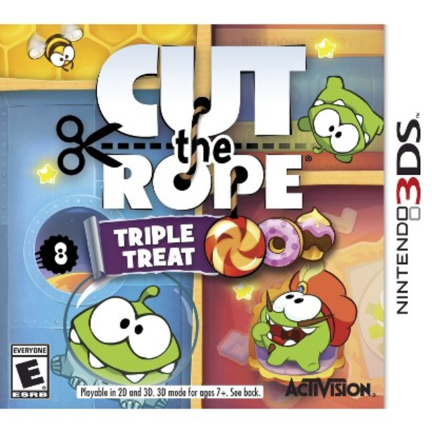 Cut The Rope Triple Treat (Nintendo 3DS)