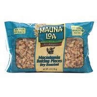 Mauna Loa Roasted Unsalted Macadamia Nut Baking Pieces