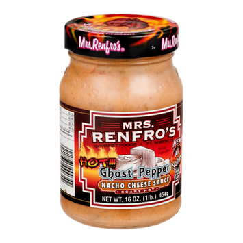 Mrs. Renfro's Nacho Cheese Sauce Ghost-Pepper Scary Hot