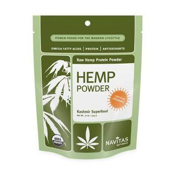 Navitas Naturals Hemp Protein Powder, 12 Ounce Pouches