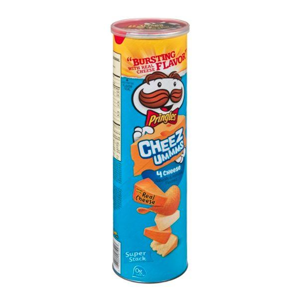 Pringles® Cheez Ummms 4 Cheese Flavored Potato Crisps