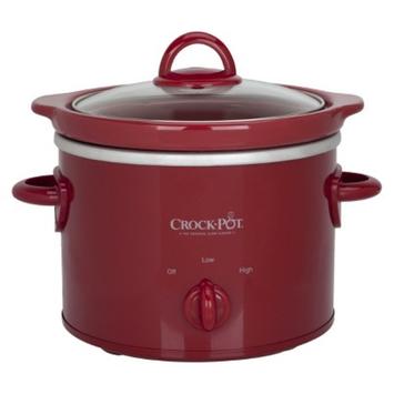 Crock Pot Crock-Pot 2 Qt Slow Cooker - Red